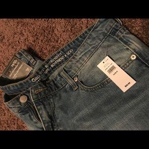 NWT Sexy Boyfriend Fit Jeans
