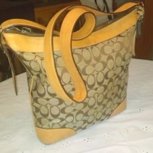 Gorgeous purse! Goes great with any outfit!    Tan