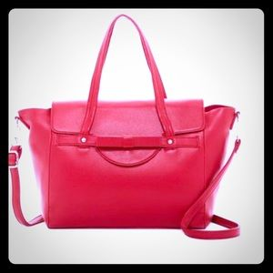 Red Tote Handbag