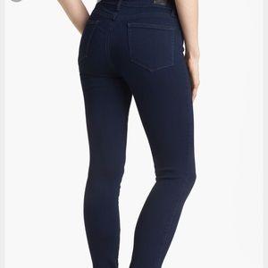 NWOT Paige Verdugo Skinny Jeans in Indigo