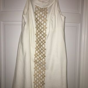 Lilly Pulitzer NWT resort white shirt dress size 6