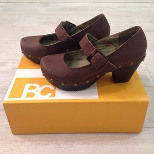 BC Footwear Gamma Ray Shoe Retro Brown Clog