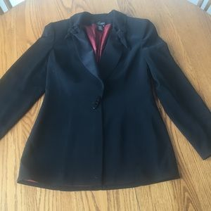 Juliana Collezione Black Blazer Jacket
