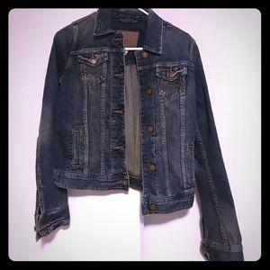 abercrombie + fitch jean jacket