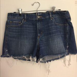 Loft Denim Shorts, Size 30/Size 10