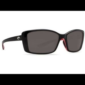 Costa Del Mar Sunglasses Pluma Black 580P