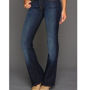 7 For all Mankind NY Dark Maternity Bootcut Jeans