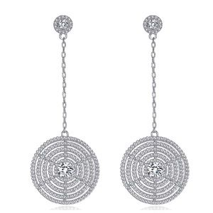 Jewelry - ‼️ COMING SOON Swarovski Crystals Disc Earrings