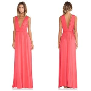 Lovers & Friends Helena Maxi Dress - Coral