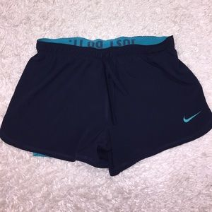 Nike Shorts W/ Spandex