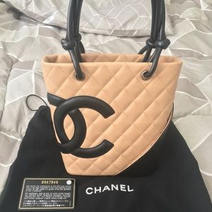 🔺SOLD🔺Authentic Chanel Cambon Petite Bucket Bag