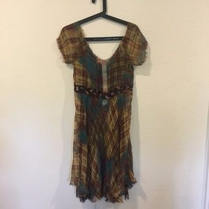 4 Love and Liberty Dresses - 4 Love and Liberty by Johnny Was plaid dress
