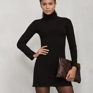 Reformation Turtleneck Dress (Rochelle Dress)