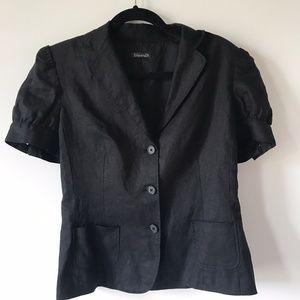 Tahari Short Sleeve Blazer