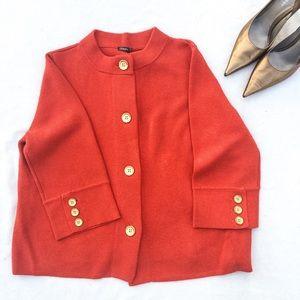 NWOT J. McLaughlin Prima 3/4 Sleeve Cardi/Coat