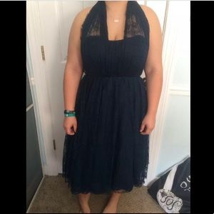 Size 13 Navy Formal Dress