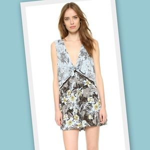 Free People Santiago Printed Romper