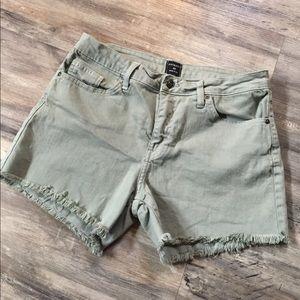 Just Black Olive Shorts sz 29