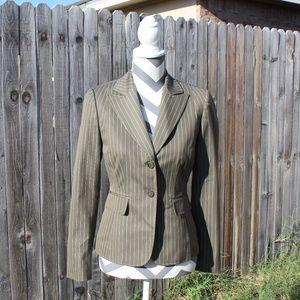 & 2/40 Antonio Melani 2 button pinstripe blazer