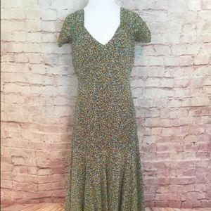 Talbots Petite Silk Midi Dress