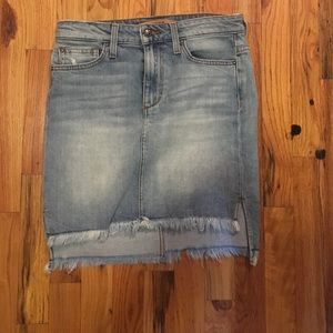 Joes jeans skirt size 26