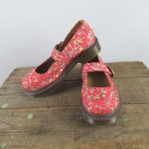 Dr.Martens Mary Jane's with floral patter