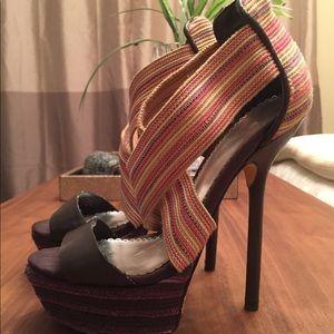 Bebe platform heels