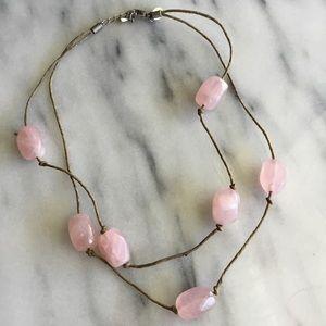 Boho Quartz Choker Necklace