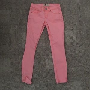 5 for $25 🔥 Lei Hot Pink Size 1 Jeans