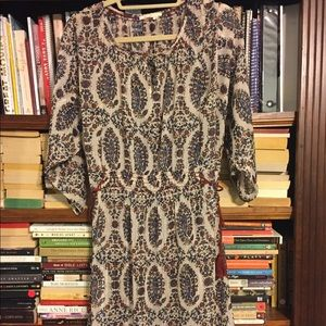 Anthropologie Print Dress
