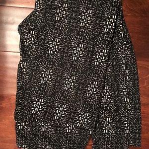 TC LulaRoe Leggings Black & White