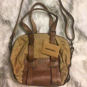 Diesel brown handbag cross body