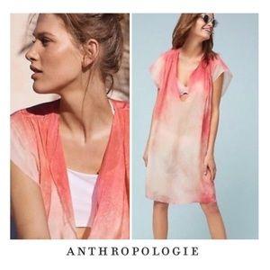 Anthropologie Tanjane Cupro Pink Tunic