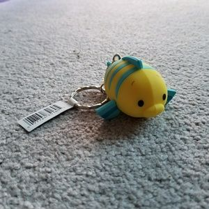 Disney Tsum Tsum Flounder keychain