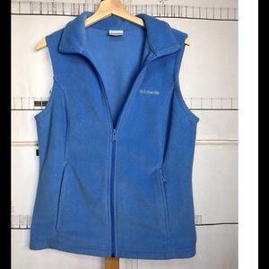 Columbia Fleece Full-Zip Vest