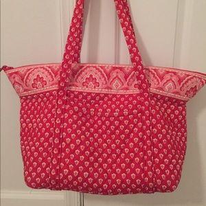 Vera Bradley Red and White Bag