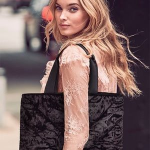New with tags Victoria's Secret velvet tote
