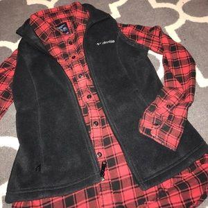 Black super warm women's COLUMBIA vest 💕
