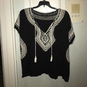 Forever 21 peasant top