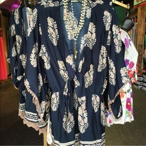 Womens Abstract romper