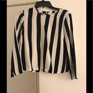 ALC Striped Blouse