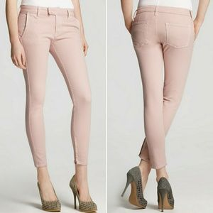 Vince Crop Skinny Trouser in Blush