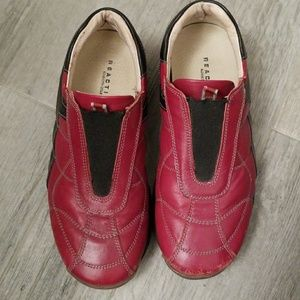 Red Kenneth Cole Reaction Euro shoes