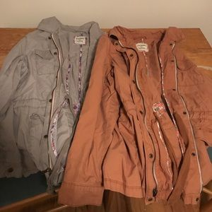 Old Navy-Set of 2- Fall/Spring Light Cargo Jackets