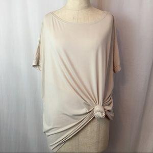 Piko 1988 Beige oversized Short Sleeve Tee sz M