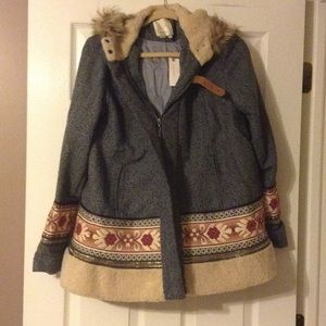 Anthropologie Coat Size Small