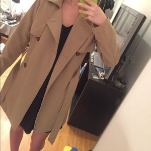 NWT Abercrombie & Fitch Drapey Trench Coat