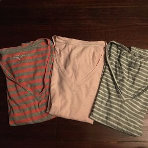J.crew vintage cotton striped tees
