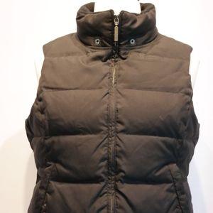 Vince Black Puffer Vest