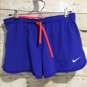 Nike   Running Shorts Just Do It Blue Orange